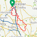 Map image of a Route from May 24, 2017