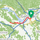 Map image of a Route from May 25, 2017