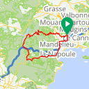 Map image of a Route from May 28, 2017