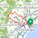 Map image of a Route from May 29, 2017