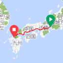 Map image of a Route from June  4, 2017