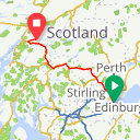 Map image of a Route from June  5, 2017