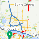 Map image of a Route from June  7, 2017