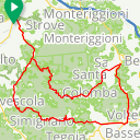 Map image of a Route from June  9, 2017