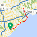 Map image of a Route from June 16, 2017