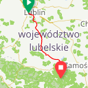Map image of a Route from June 17, 2017