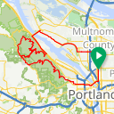 Map image of a Route from July  3, 2017