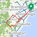 Map image of a Route from July 11, 2017