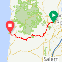 Map image of a Route from July 18, 2017