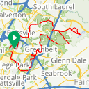 Map image of a Route from July 21, 2017