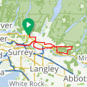 Map image of a Route from July 27, 2017