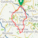 Map image of a Route from July 29, 2017