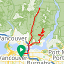 Map image of a Route from July 30, 2017