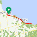 Map image of a Route from August  7, 2017