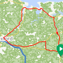 Map image of a Route from August 17, 2017