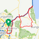 Map image of a Route from August 21, 2017