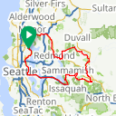 Map image of a Route from August 26, 2017