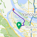 Map image of a Route from May  7, 2013