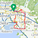 Map image of a Route from August 28, 2017