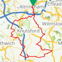 Map image of a Route from May  8, 2013