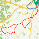 Map image of a Route from September 10, 2017