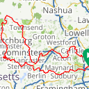 Map image of a Route from September 12, 2017