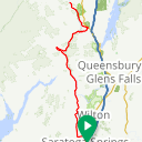 Map image of a Route from September 14, 2017