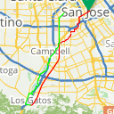 Map image of a Route from September 19, 2017