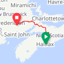 Map image of a Route from May 20, 2013