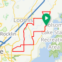 Map image of a Route from September 20, 2017