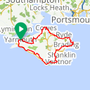Map image of a Route from May 21, 2013