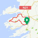 Map image of a Route from September 23, 2017