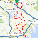 Map image of a Route from September 24, 2017