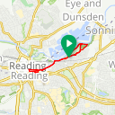 Map image of a Route from September 27, 2017