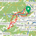 Map image of a Route from September 28, 2017