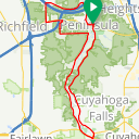 Map image of a Route from September 29, 2017