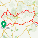 Map image of a Route from October 11, 2017