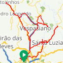 Map image of a Route from October 20, 2017
