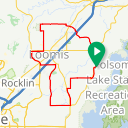 Map image of a Route from October 26, 2017