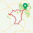 Map image of a Route from November  1, 2017