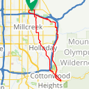 Map image of a Route from November  9, 2017