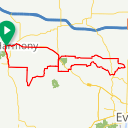Map image of a Route from November 20, 2017
