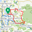 Map image of a Route from December  2, 2017