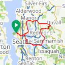 Map image of a Route from December  3, 2017