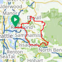 Map image of a Route from December  8, 2017