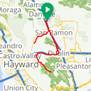 Map image of a Route from December 10, 2017