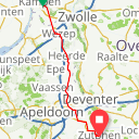 Map image of a Route from December 17, 2017
