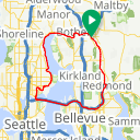 Map image of a Route from December 29, 2017