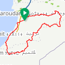 Map image of a Route from January  5, 2018