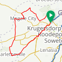 Map image of a Route from January 15, 2018